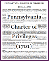 Pennsylvania Charter of Privileges (1701)