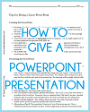 Tips for Creating a Great PowerPoint