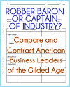Robber Baron or Captain of Industry? Chart Worksheet
