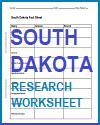 South Dakota Research Worksheet
