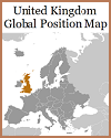 United Kingdom Global Location Map