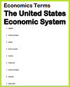 U.S. Economic System Vocabulary Terms Worksheet