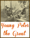 Young Peter the Great of Russia