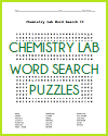 Chemistry Lab Word Search Puzzles