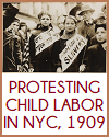 Child Labor Protest in New York City, 1909