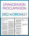 emancipation proclamation dbq worksheet. Black Bedroom Furniture Sets. Home Design Ideas