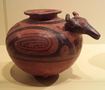 Greater Cocle Jar with Deer Effigy (Panama, 950-1100)