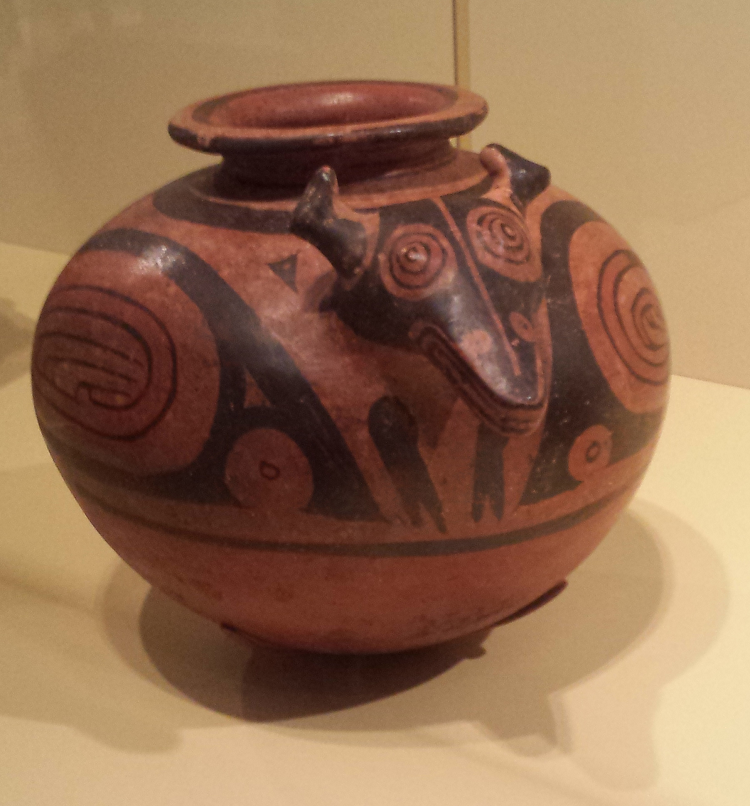 Greater Cocle Jar with Deer Effigy (Panama, 950-1100 C.E.)