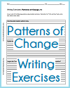 Patterns of Change Writing Exercises