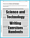 Science and Technology Writing Exercises