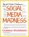 Social Media Madness Worksheets