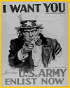 Uncle Sam Military Recruitment Poster