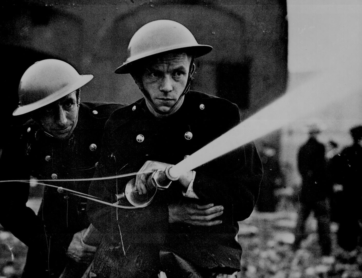 London Fire Drill, 1939