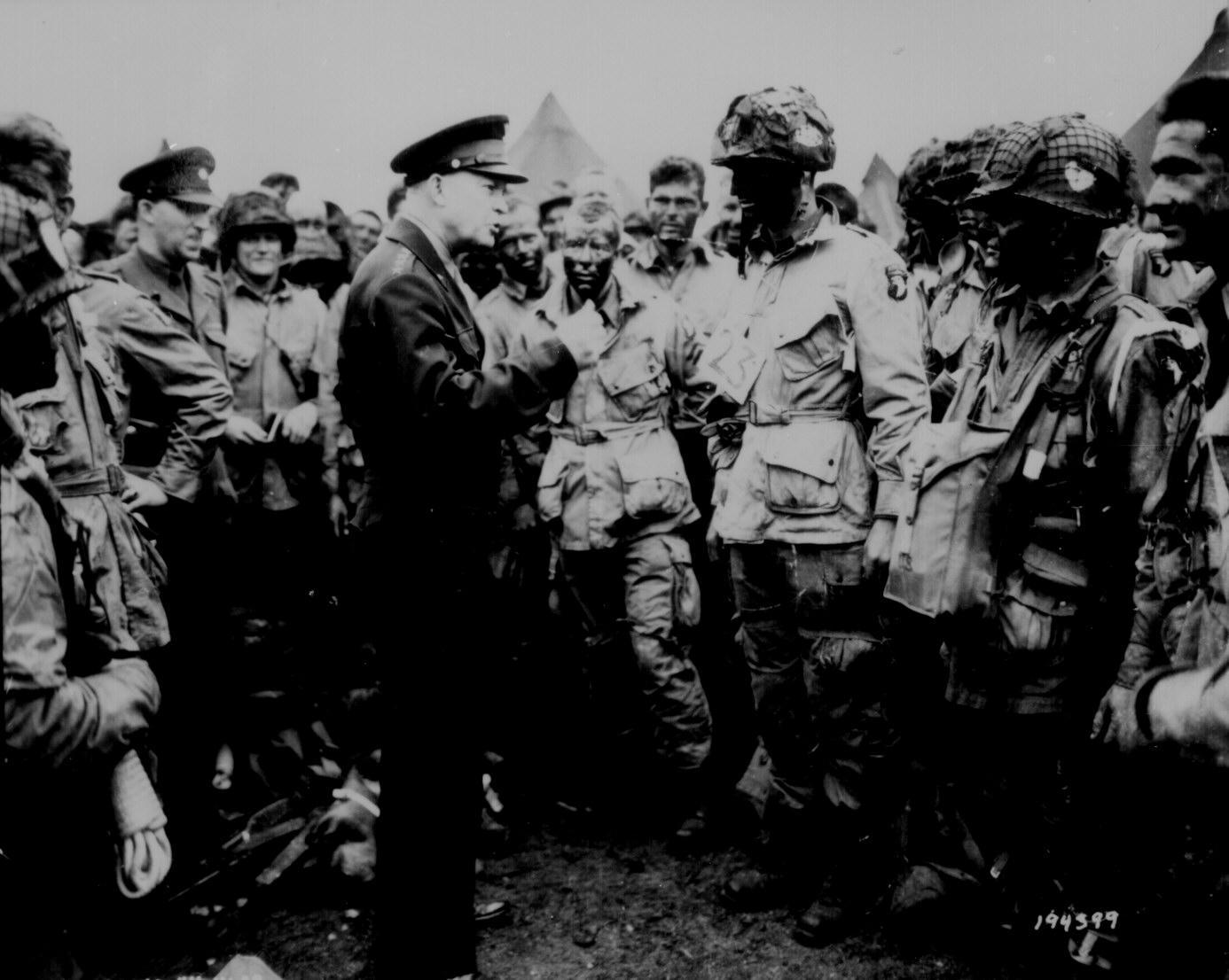 Gen. Dwight D. Eisenhower on D-Day
