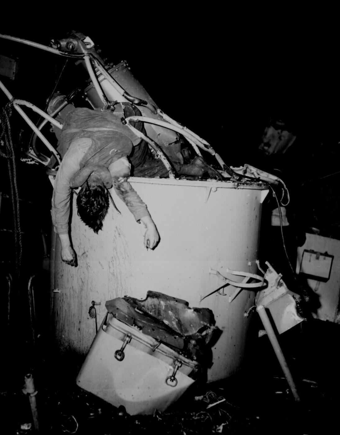 American Seaman Killed in Submarine Warfare, World War II
