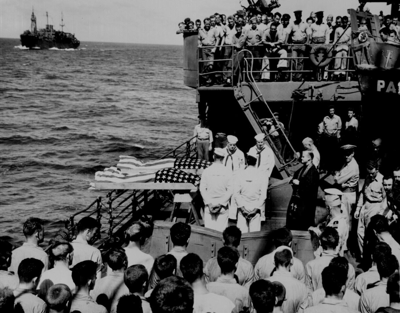 U.S. Military Burial at Sea, World War II