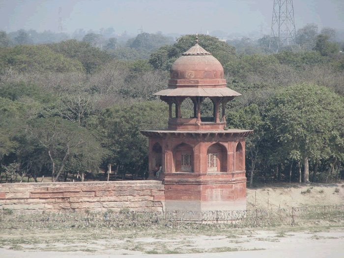 Pavilion on the Taj Mahal Grounds