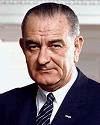 LBJ in the Oval Office on 10 March 1964
