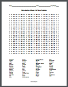 Native-American Cultures in 1492 Word Search