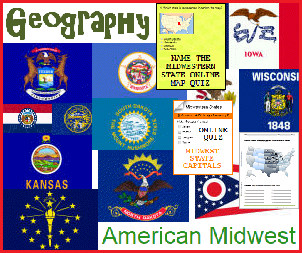 American Midwest - Free Geography Education Materials for K-12