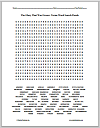 """The Glory That Was Greece"" Terms Word Search Puzzle"