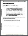 Andrew Carnegie Autobiography DBQ Handout