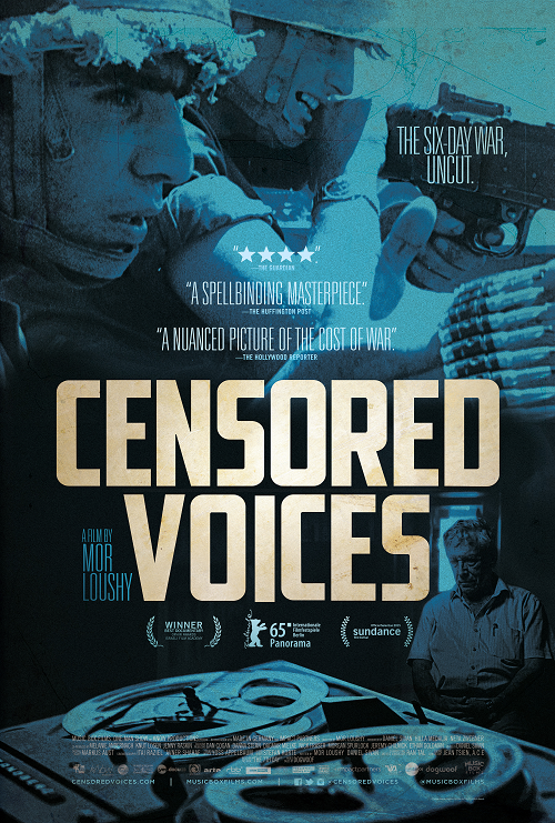 Censored Voices (2015) Official Movie Poster
