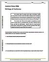 Confucius DBQ Worksheet