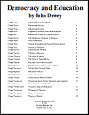 Democracy and Education by John Dewey (1916) eBook