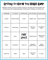 Getting-to-Know-You Classroom Bingo Game