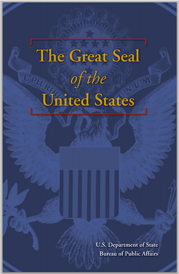 Great Seal of the United States - Booklet is free to print (PDF file).