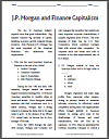 J.P. Morgan and Finance Capitalism Reading with Questions