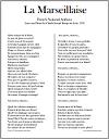 """""""La Marseillaise"""" French National Anthem Lyrics and Translation"""