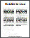 Latino Movement Reading with Questions