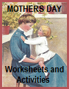 Mother's Day Worksheets and Activities