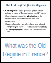 What Was the Old Regime? Brief Video Tutorial