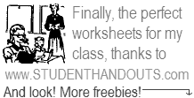 Free Worksheets and More