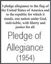 Pledge of Allegiance (1954) Free to Print