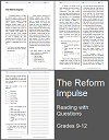 The Reform Impulse Reading with Questions