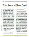 The Second New Deal Reading with Questions