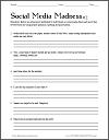 Social Media Madness Worksheet #2