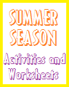 Summer Season Activities and Worksheets