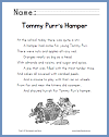Tommy Purr's Hamper Poem