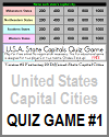 United States Capital Cities Quiz Game #1