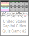 United States Capital Cities Quiz Game #2