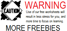 Free K-12 Printables for Education
