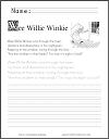 Wee Willie Winkie Nursery Rhyme