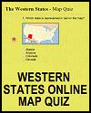 Western States Online Map Quiz