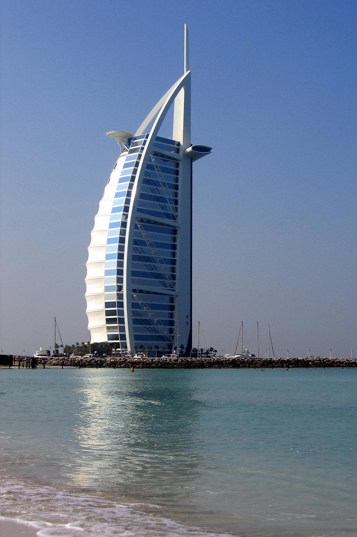 Burj-al-Arab Hotel in Dubai, UAE