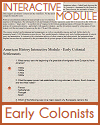 Interactive Module - Early Colonial Settlements